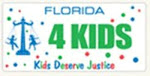 Every dollar of the Kids Deserve Justice specialty license plate fee of $25 will fund children's legal services. No administrative costs will be deducted by The Florida Bar Foundation.