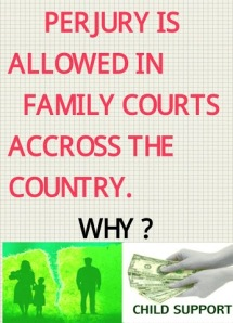 Perjury is Allowed in Family Courts
