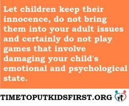 children4justice -Psychological Damage - 2016