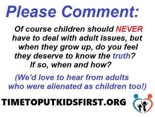 children4justice Who Alienated - 2016