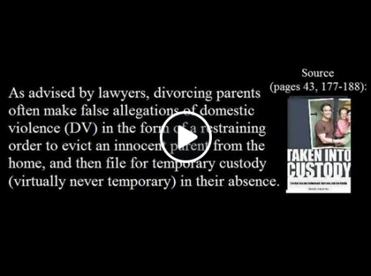 False Domestic Violence Allegations As Advised by Family Law Lawyers - 2015
