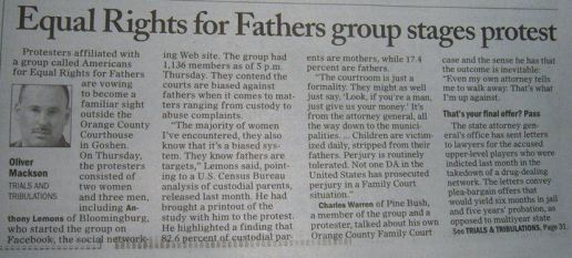 equal rights protest news clip
