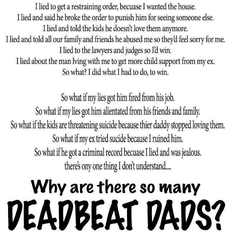 Deadbeat Dad Myth – 2016 | Children's Rights