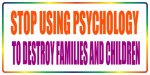 Stop using psychology