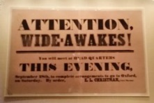 ATTENTION WIDE-AWAKES - 2016