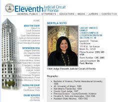 Chief Judge Bertila Soto of 11th Judicial Circuit - 2015