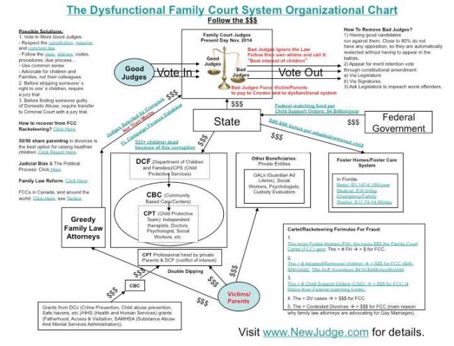 Dysfunctional Family Courts - 2015