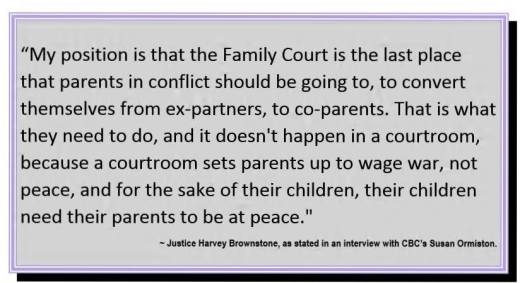 Courts must work toward a shared parenting norm