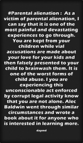 Parental-alienation - As a victim #StandupforZoraya 2015