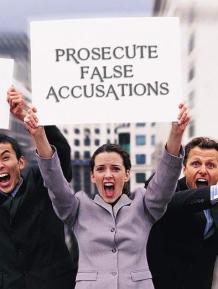 Prosecute False allegations of DV - 2016