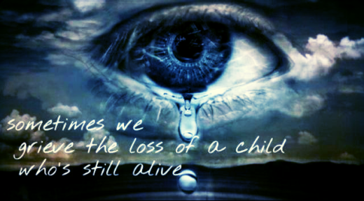 Grieving for a living child - AFLA Blog 2016