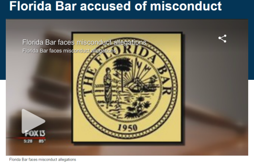 Florida Bar Accused of Misconduct - 2015