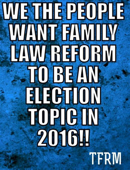 Family Law Reform TFRM - 2016
