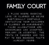 FAMILY COURT HORRORS 2015 AFLA