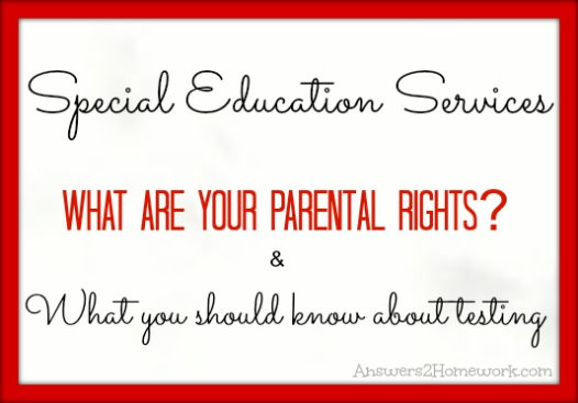 Special-Education Parental Rights - Causes 2015