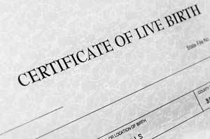 father not on birth certificate